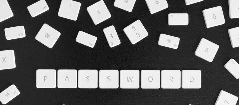 Mot de passe informatique (illustration).