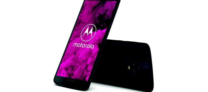 Le Motorola G6, un smartphone d'entrée de gamme qui revendique un statut de terminal premium...