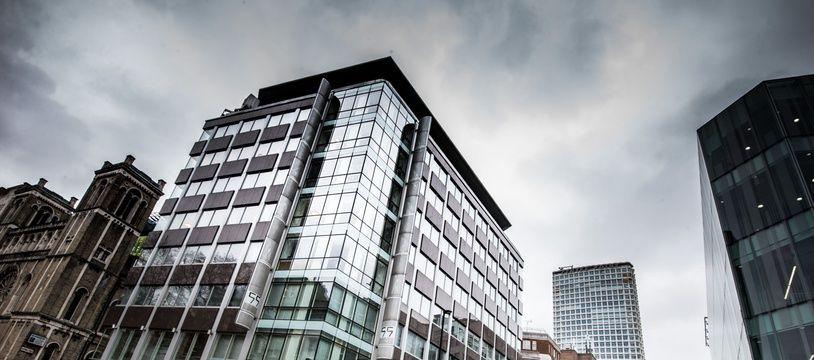 Le siège de Cambridge Analytica, à Londres.