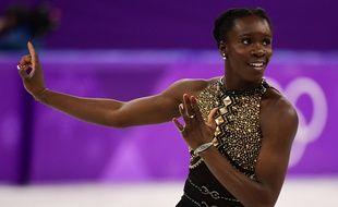 En patinant sur un medley de Beyoncé, Maé-Bérénice Meité a fait sensation.
