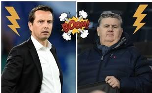 L'entraîneur du Stade Rennais Julien Stéphan a recadré le consultant de Canal+ Pierre Ménès au sujet de Mbaye Niang.