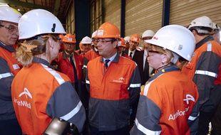 François Hollande est déjà venu à deux reprises à Florange, en septembre 2013 et novembre 2014, des déplacements chaque fois assez chahutés.