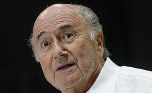 Sepp Blatter, le président de la Fifa, le 2 juin 2015, à Zurich.