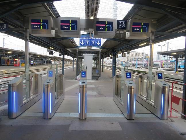 Des portiques anti-fraudes ont été installés et activés ce jeudi en gare de Nantes