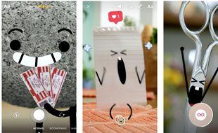 Direct, la nouvelle messagerie d'Instagram.