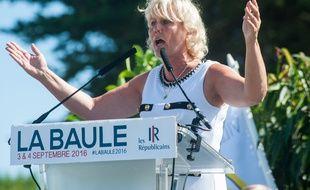 L'eurodéputée LR Nadine Morano, le 3 septembre 2016 à La Baule.
