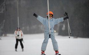 Illustration ski. le 21 01 2009