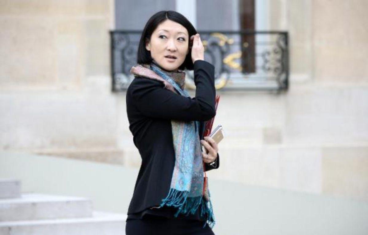 La ministre de la Culture Fleur Pellerin à l'Elysée le 18 février 2015 à Paris – Stephane de Sakutin AFP