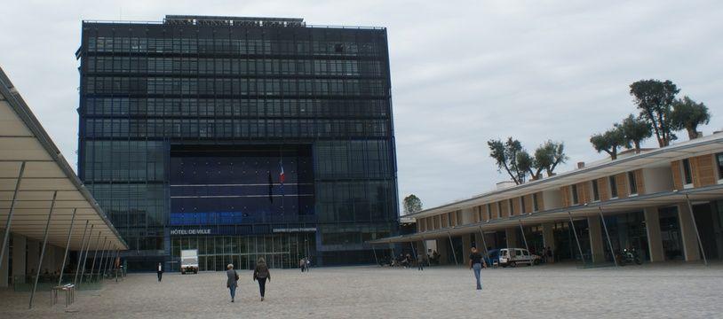 L'hôtel de ville de Montpellier