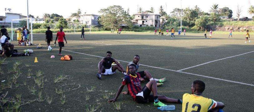 Un joueur du championnat gabonais de football est décédé à Libreville après s'être écroulé en plein match, le 2 mars 2019 (photo d'illustration).