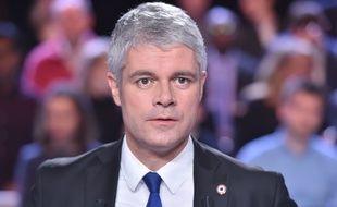 """Laurent Wauquiez, ici lors de son passage dans """"L'Emission politique"""" sur France 2 le mois dernier. CHRISTOPHE ARCHAMBAULT"""