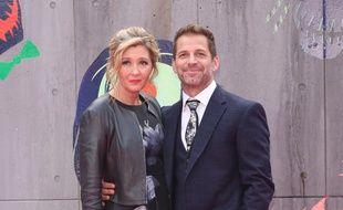 Deborah et Zack Snyder à Londres