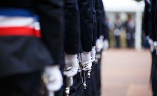 L'école nationale de police supérieure à Cannes-Ecluse, en janvier 2020. (illustration)