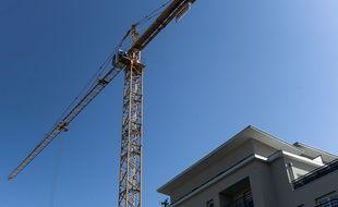 Un logement en construction (Illustration).