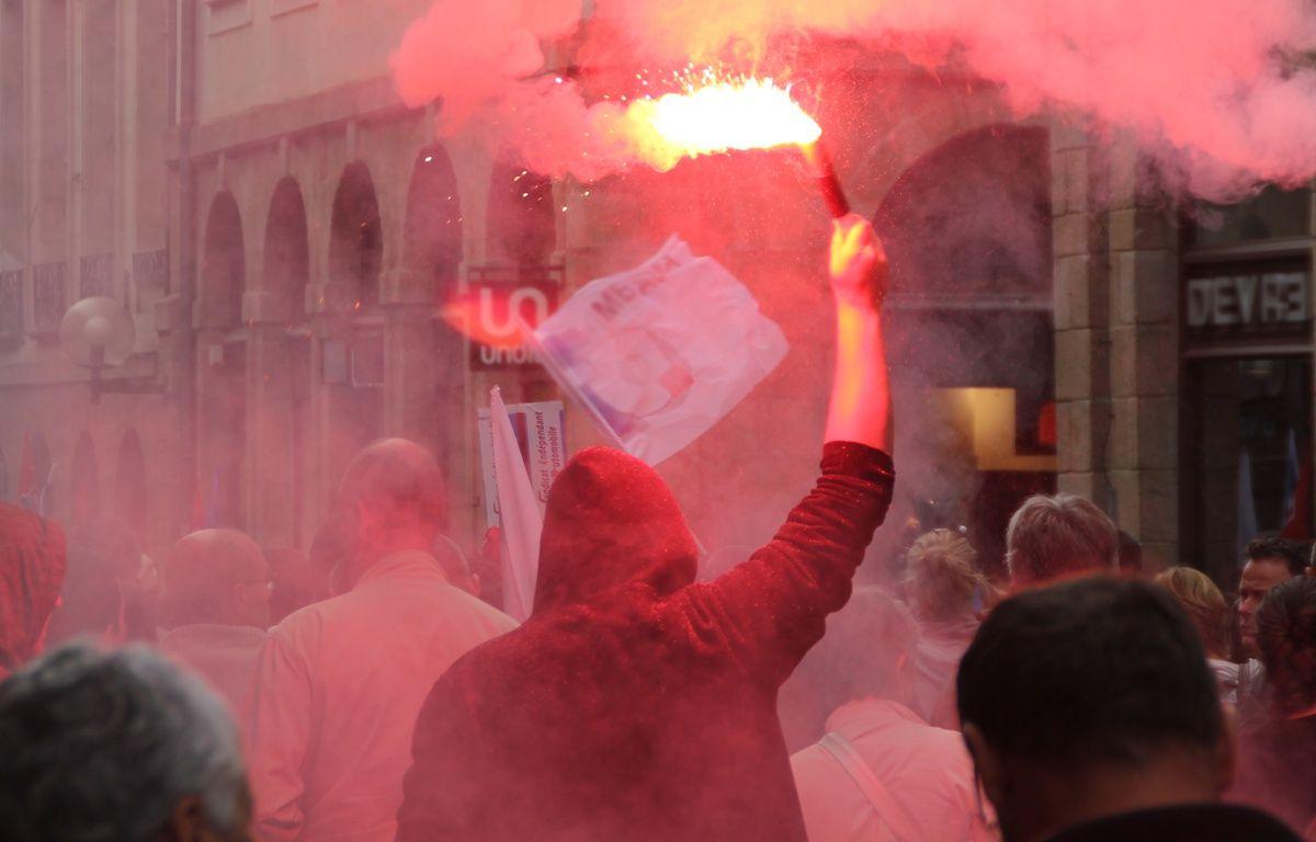 Illustration d'une manifestation, ici dans les rues de Rennes. – C. Allain / APEI / 20 Minutes