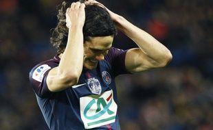 Cavani a manqué beaucoup d'occasions contre Guingamp en 16es de finale de Coupe de France.