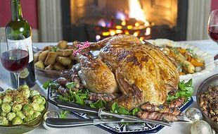 Un repas de Noël avec des produits régionaux