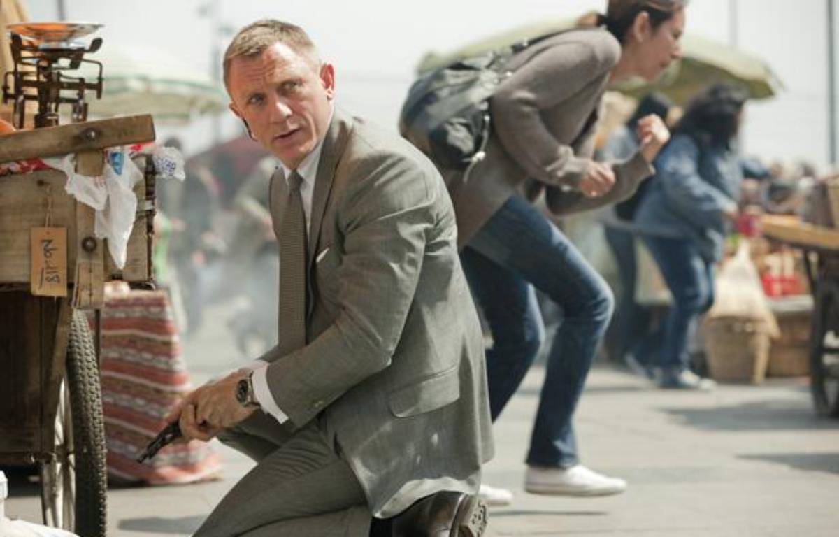 Daniel Craig alias James Bond dans «Skyfall», un film classé «PG-13»  – Columbia Pictures Industries