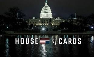 Capture d'écran du générique de la saison 4 de «House of Cards».