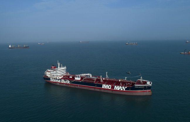 Le Stena Impero, tanker battant pavillon britannique, a été saisi par l'Iran dans le détroit d'Ormuz.