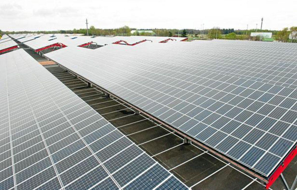 La centrale photovoltaïque de Bordeaux-Lac – S.ortola/20minutes