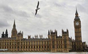 Le palais de Westminster à Londres.