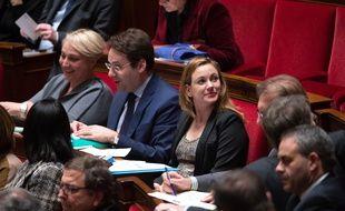 Axelle Lemaire, la secrétaire d'Etat au Numérique, à l'Assemblée, le 2 décembre 2014.