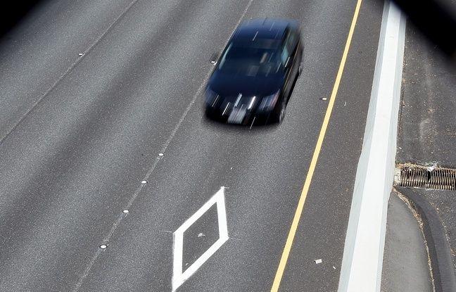 Aux Etats-Unis (ici en Californie), des voies sont réservées au covoiturage.