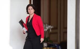 La ministre du Logement Sylvia Pinel devant l'Elysée le 26 juin 2015.