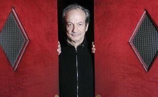Patrick Chesnais, à l'affiche de «Cochon d'Inde», le 10 janvier 2009 au théâtre Hebertot, à Paris.
