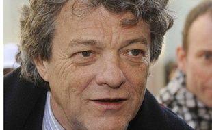 Jean-Louis Borloo, ministre de l'Ecologie et du developpement durable, le 4 mars 2010.