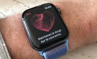 La dernière mise à jour de l'Apple Watch Series 4 permet de mesurer un ECG.