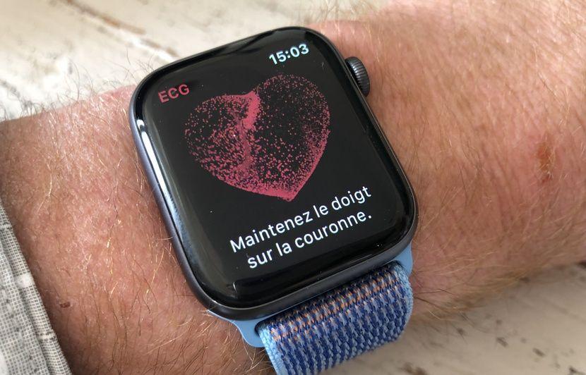 Apple Watch Series 4: Nous avons testé sa nouvelle fonction ECG (et merci, tout va bien!)