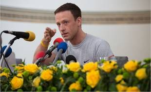 Ben Foster en Lance Armstrong dans The Program