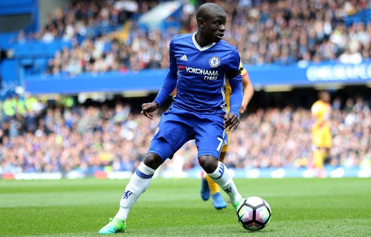N'Golo Kanté, contre Crystal Palace, le 1er avril. – Leicester/BPI/Shutterst/SIPA