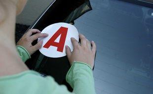 Les deux jeunes automobilistes ont perdu leur permis probatoire. Illustration.