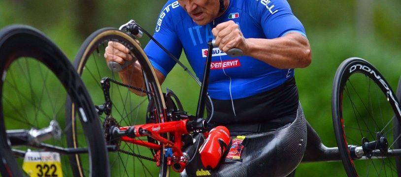 L'ancien pilote de F1 Alessandro Zanardi est devenu l'une des grandes figures du handisport après un grave accident en 2001.