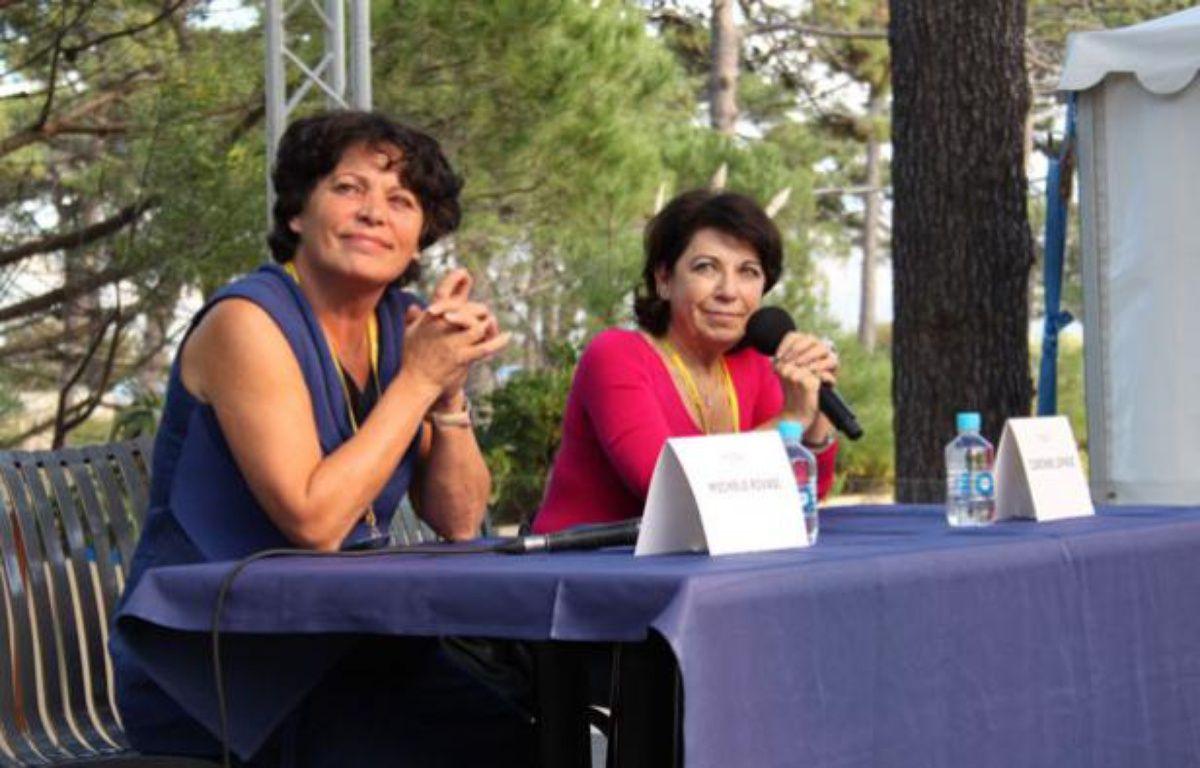 Michèle Rivasi et Corinne Lepage à Calvi – A.Chauvet/20 Minutes