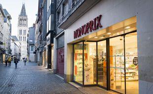 Un magasin Monoprix, ici à Rouen. (illustration)