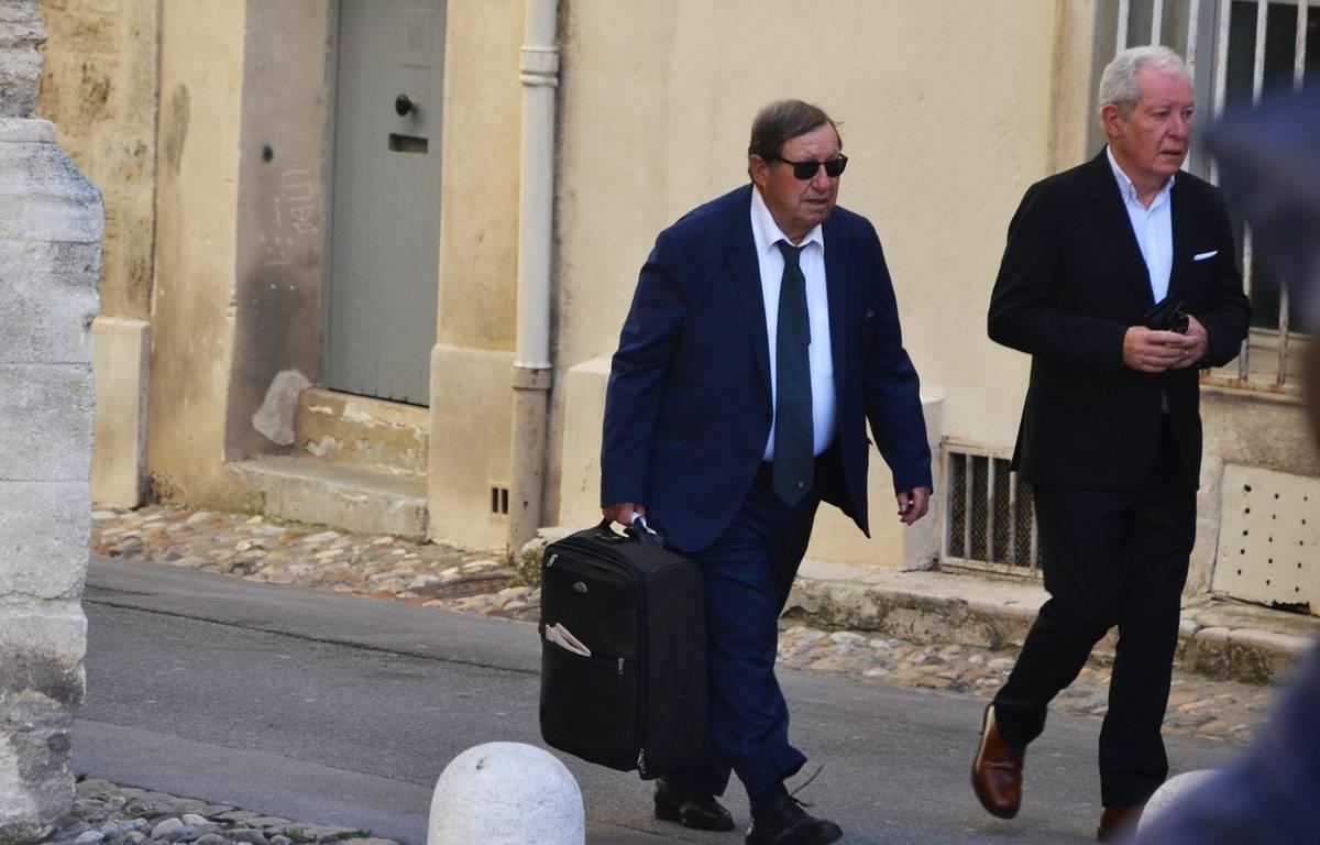 Guy Roux, aux obsèques de Louis Nicollin. – N. Bonzom / Maxele Presse