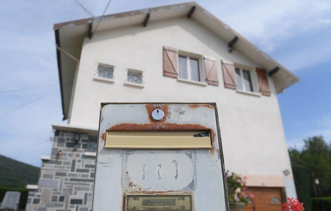 Aumontzey (Vosges). La maison de Marcel Jacob et de son épouse où ils ont été interpellés, le 14 juin 2017.