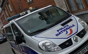 Véhicule de police en 2016 à Lille (illustration)