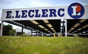 Une enseigne du géant de la distribution E. Leclerc.