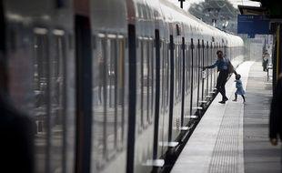 Ile-de-France: Le trafic RER a été perturbé après l'agression d'un cheminot (Illustration)