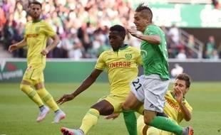 Le FC Nantes face à Saint-Etienne début septembre.