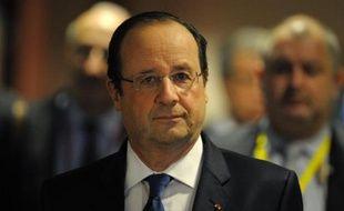 François Hollande le 20 mars 2014 à Bruxelles