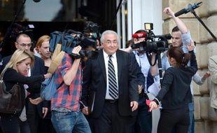 """Dominique Strauss-Kahn estime qu'il n'a """"pas de problème particulier avec les femmes"""", dans une interview diffusée mercredi sur CNN, deux ans après l'affaire du Sofitel de New York."""