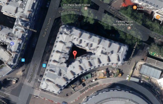 L'immeuble du 42, rue du Louvre à Paris (1er).