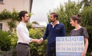 Homeloop achète directement les logements auprès des propriétaires vendeurs.