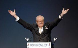 Jean-Marie Le Pen le 15 janvier 2011.